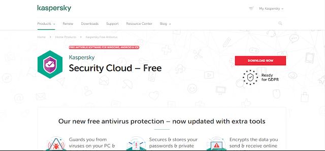 Antivirus Gratis Terbaik Yang Ringan Untuk Laptop - kaspersky free antivirus