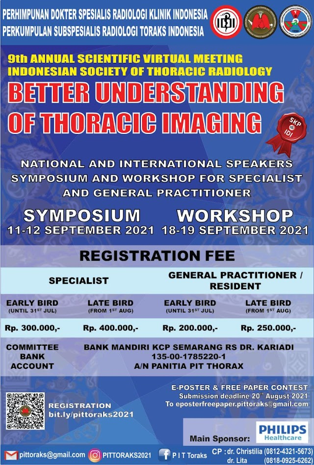 """9th Annual Scientific Virtual Meeting  Indonesian society of Thoracic Radiology  """"Better Understanding of Thoracic Imaging"""""""