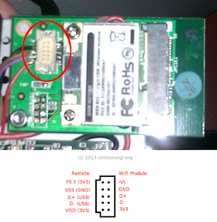 BoxeeBox Remote reciver circuit