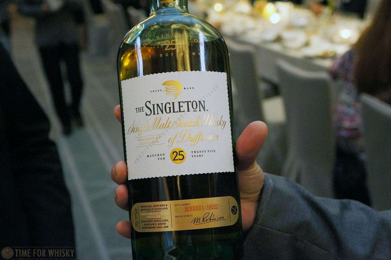 Time for Whisky.com: The Singleton of Glen Ord 12yo Sherry Cask launch  dinner [Tasted #470]