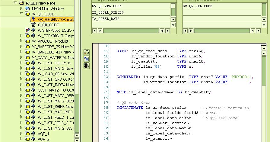 HavliCzech: SAP Smartforms + Zebra printer = QR codes work