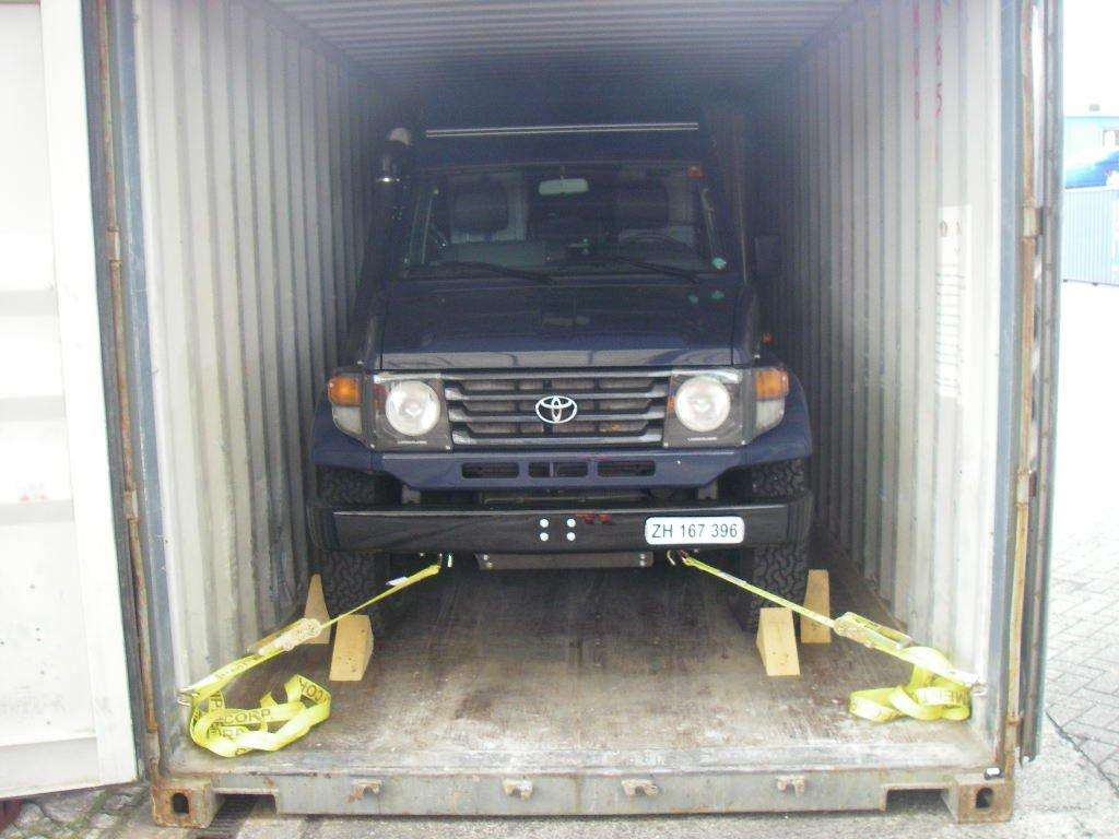 the blue truck: Shipping Your Car from Europe to the USA