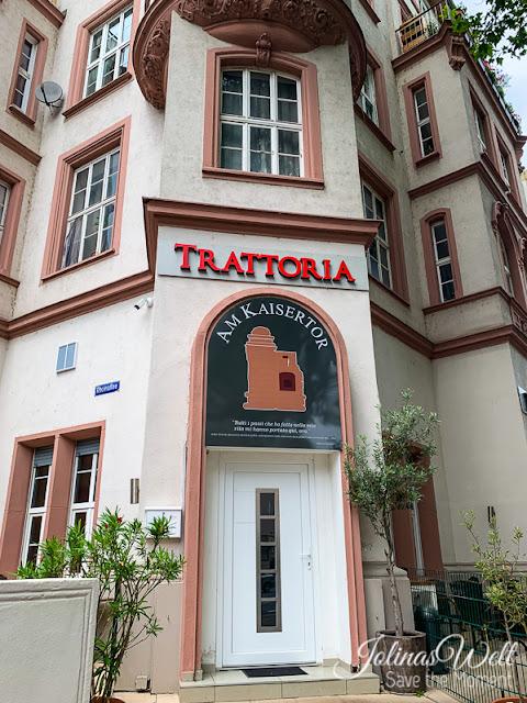 Trattoria am Kaisertor Eingang