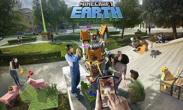 Fin du jeu Minecraft Earth de Microsoft