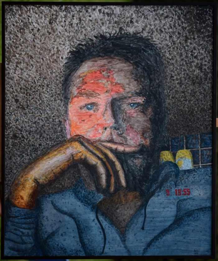 Немецкий художник. Joern Hinrichs