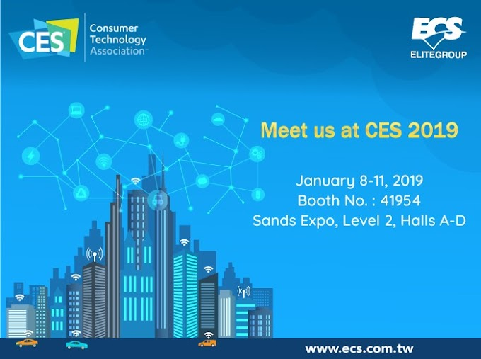 ECS to Reveal the Latest innovative AI Products at CES 2019