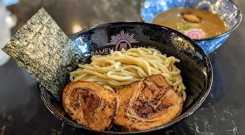 Ganja-style tsukemen dipping ramen