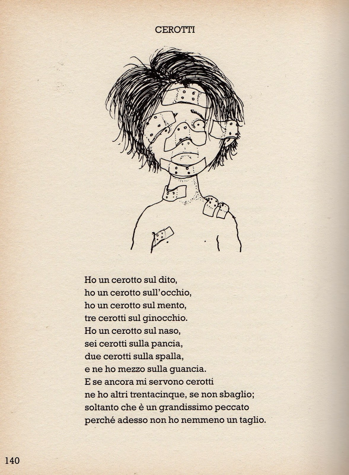 Eccezionale APEdario: Cerotti, h e poesie ME38