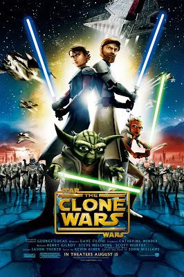 gwiezdne wojny klonów serial recenzja plakat anakin obi-wan ahsoka