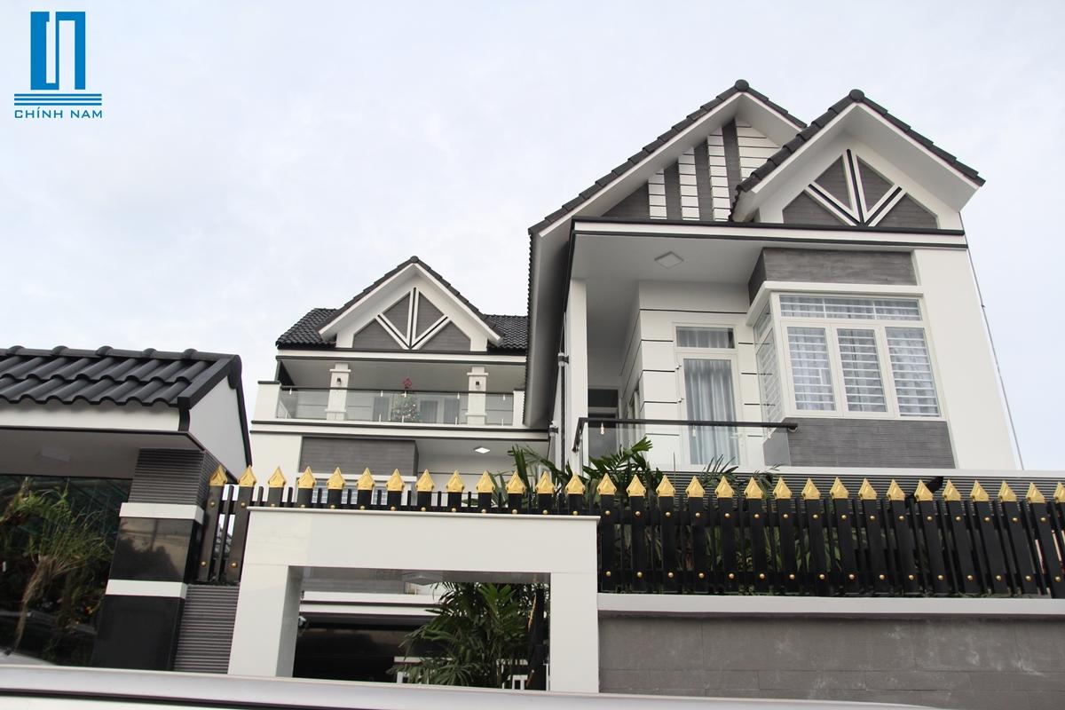 Thi công biệt thự đẹp ở Tân Phong - Biên Hòa