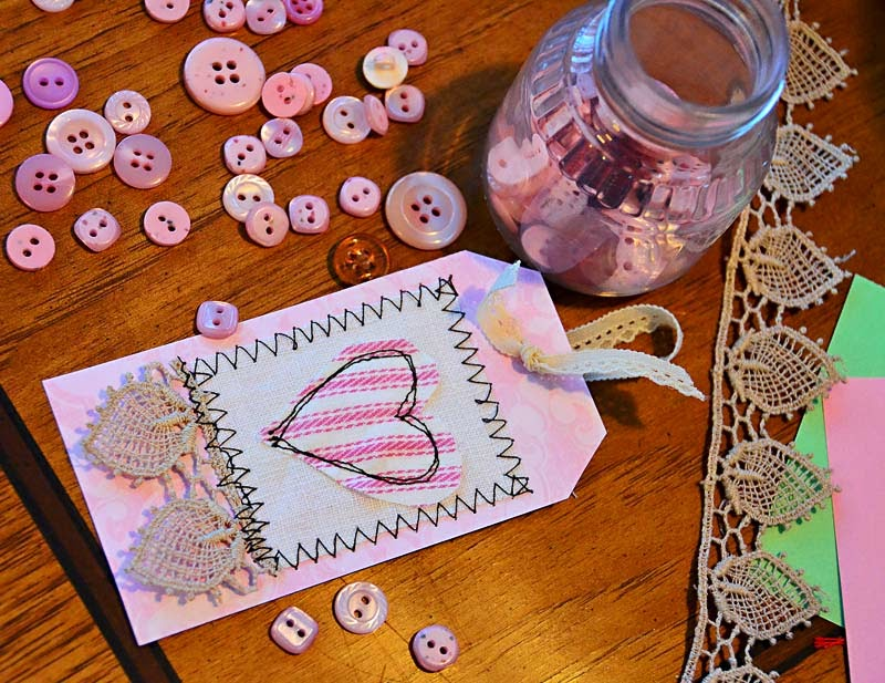 Creating paper gift tags
