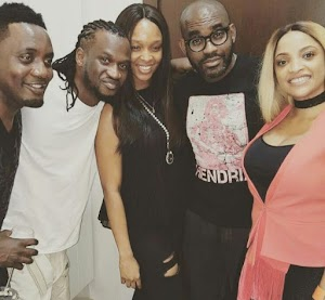 Top Celebrities AY, Iyanya, Others at P'Square House Warming Party-Photos