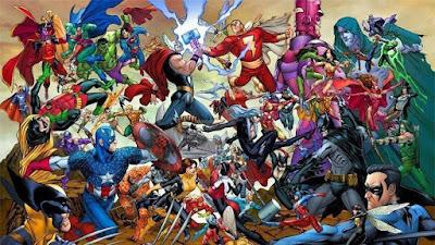 oldie nerd, comiccon rs, marvel, dc, versus,