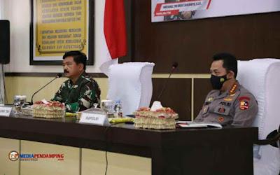 Panglima TNI dan Kapolri Motivasi Satgas Madago Raya, Pastikan Negara Tidak Boleh Kalah dari Teroris
