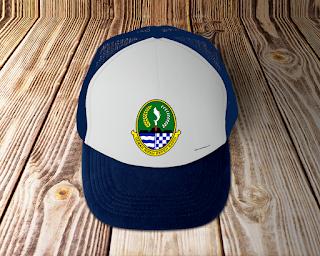 desain topi lambang logo provinsi jawa barat - kanalmu