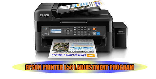 EPSON L561 PRINTER ADJUSTMENT PROGRAM