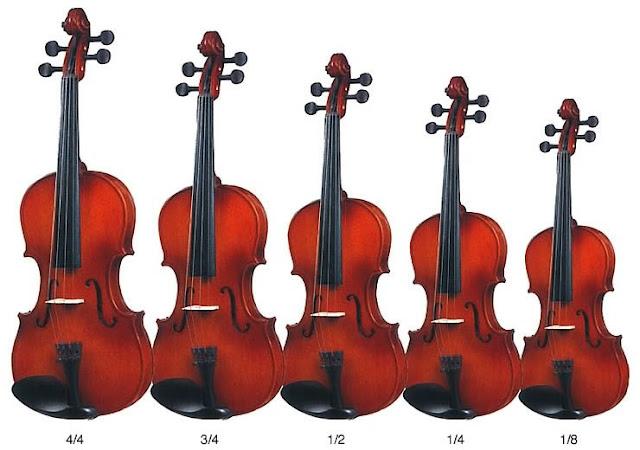 Cách chọn mua đàn violin theo độ tuổi