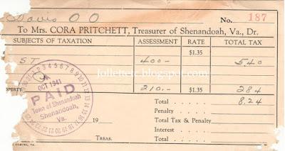 Davis property tax 1941 https://jollettetc.blogspot.com