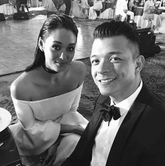 Jericho Rosales and wife Kim Jones