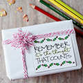 Christmas Coloring Gift Tags