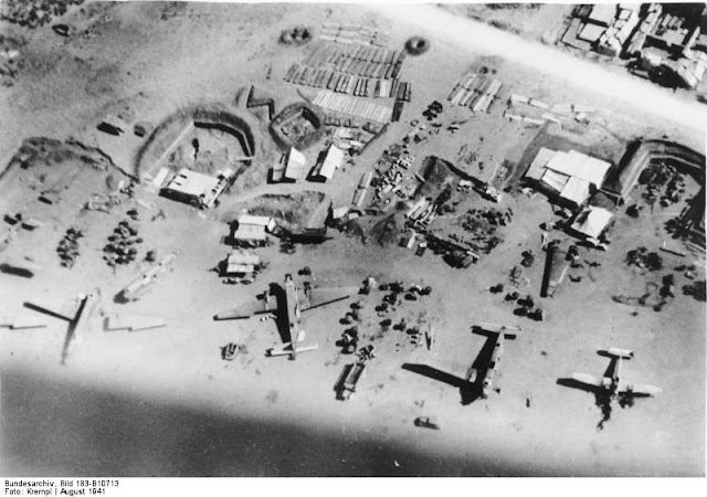 Maleme Airfield, Crete, 17 August 1941 worldwartwo.filminspector.com