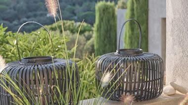 Farolillos de bambú para el jardín, terraza o balcón