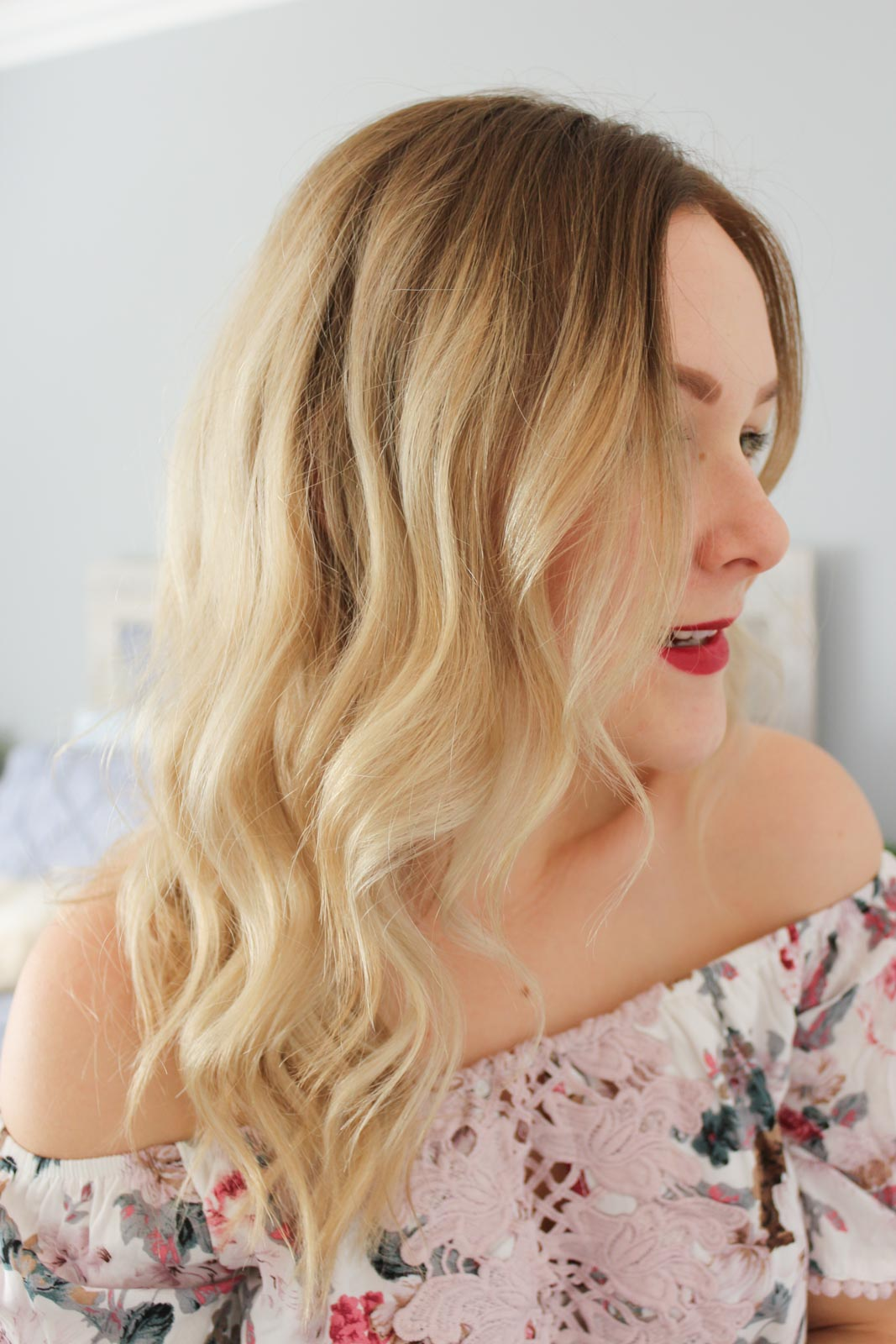 Hair Colour Change & Current Styling Routine | Cate Renée