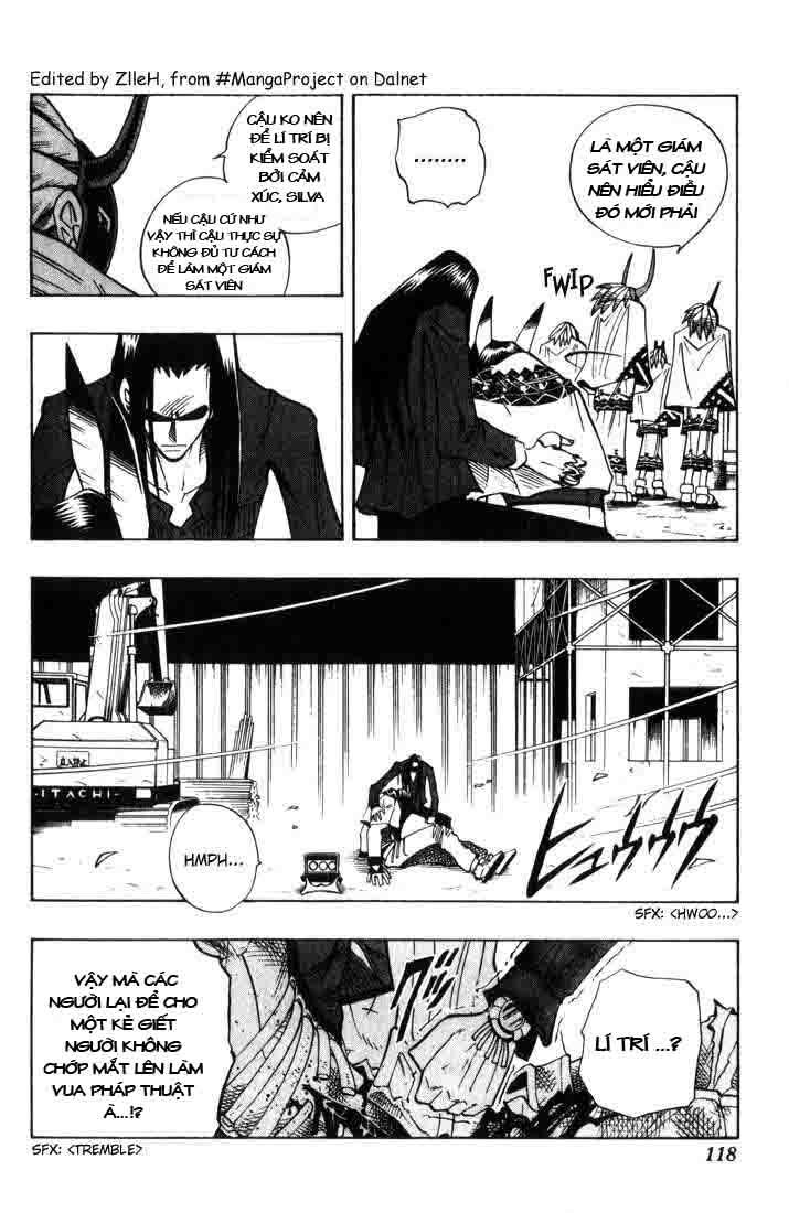Shaman King [Vua pháp thuật] chap 32 trang 11