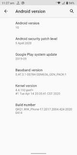 [AOSP जारी] Asus ZenFone Max Pro M1 एंड्रॉइड 10 आधिकारिक अपडेट से पहले स्थिर अपडेट लीक, वाइडवाइन L1 वापस आ गया है (डाउनलोड लिंक अंदर डाउनलोड करें) Vapi Media News