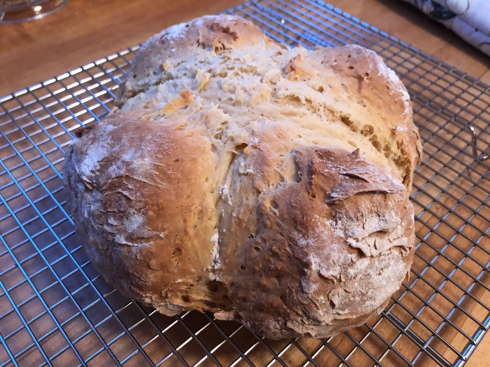 Letters From A Hill Farm Paul Hollywood S Soda Bread
