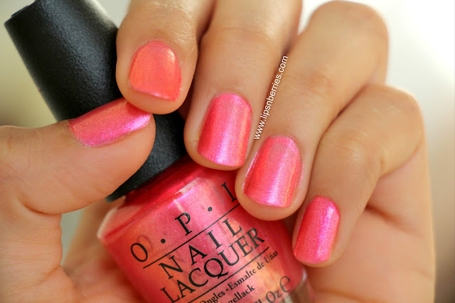 OPI can't hear myself pink