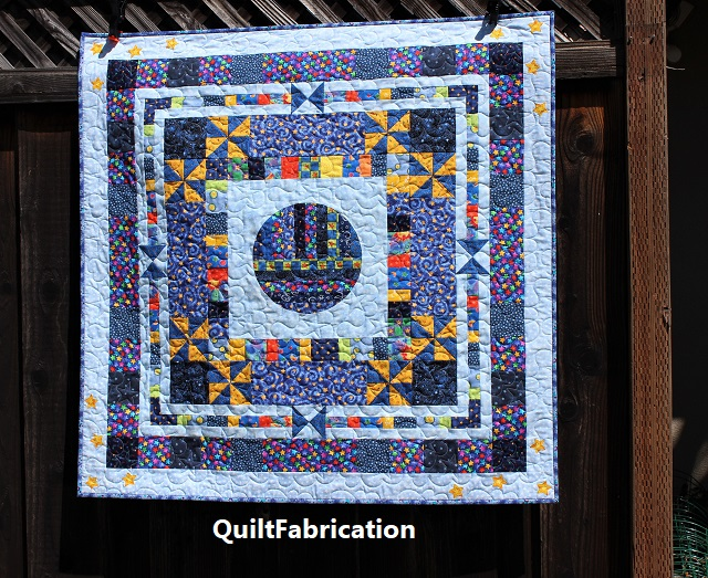 The Moon and the Stars by QuiltFabrication