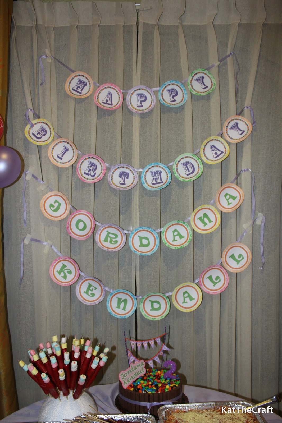 So Many Things to Do, So Little Time: DIY Birthday Banner ...