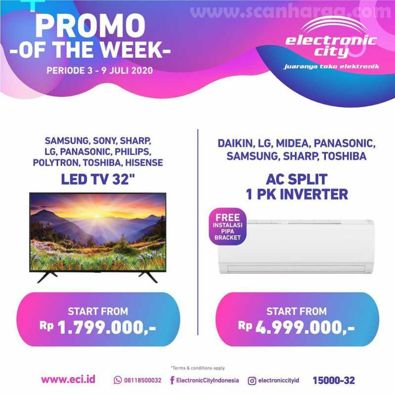 Promo Electronic City Of The Week Periode 3 - 9 Juli 2020 1