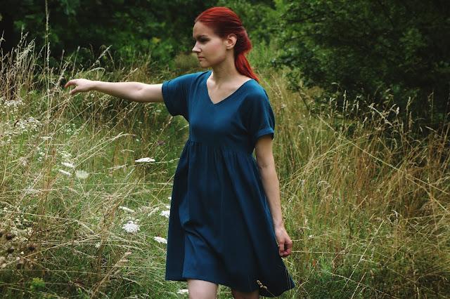jak uszyć sukienkę z tkaniny