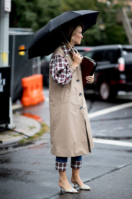 New York Fashion Week :How to dress with rain according to the most popular