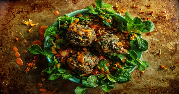Garlicky Spiced Lamb Meatballs Recipe