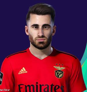 PES 2021 Faces Rafa Silva by Lucas