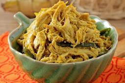 Resep Ayam Suwir Santan Aroma Jeruk Enak, Hidangan Rumahan Dengan Rasa Dan Aroma yang Nendang Banget
