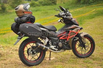 Modifikasi Honda Supra GTR150 Grand Touring Adventure