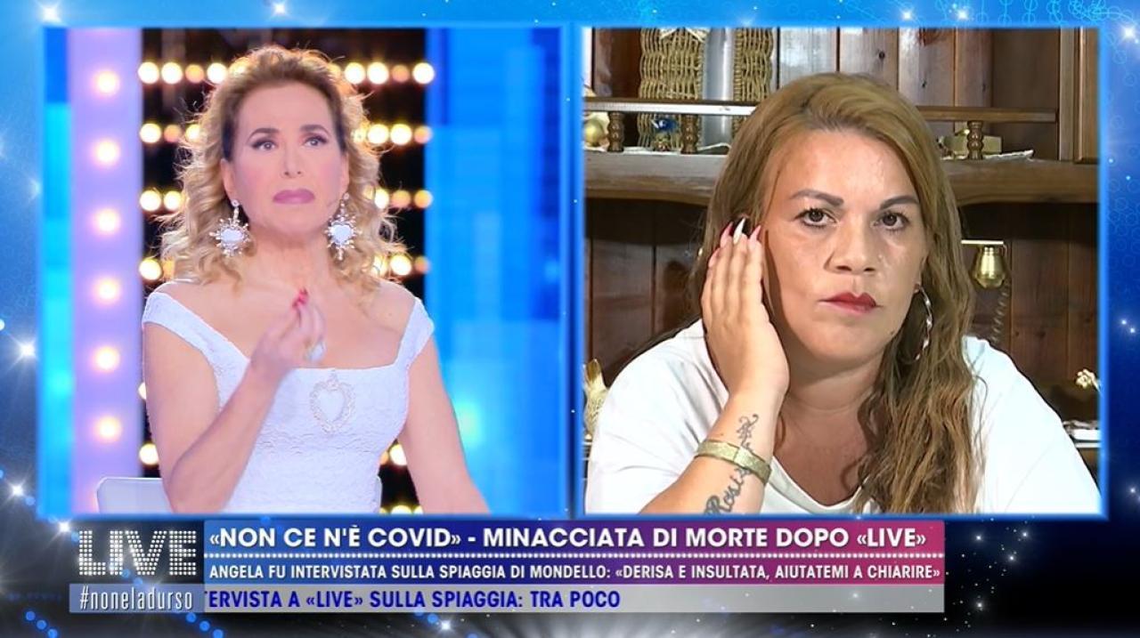 """Angela Chianello da Mondello contro Barbara D'Urso: """"Mi hai rovinato la vita"""""""