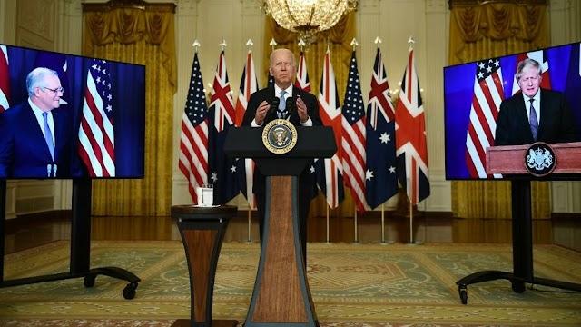 EE. UU., Reino Unido y Australia anuncian pacto indopacífico de defensa, ante influencia china