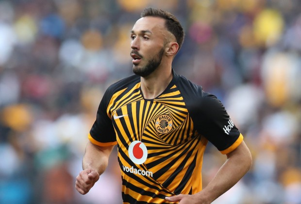 Kaizer Chiefs striker Samir Nurkovic