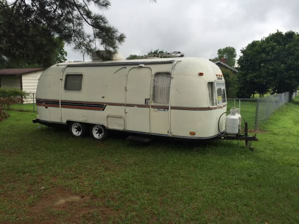 used rvs 1980 airstream argosy trailer for sale by owner. Black Bedroom Furniture Sets. Home Design Ideas