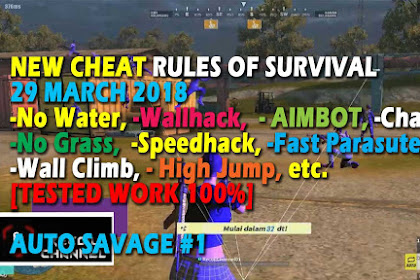 Cheat Rules of Survival Treonin 6.0 Update 29 Maret 2018