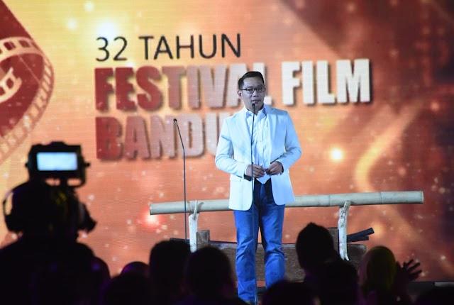 Dukung Industri Kreatif,  Emil Berharap Festival Film Bandung Jadi Event Kelas Dunia