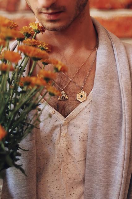 biżuteria męska zalando