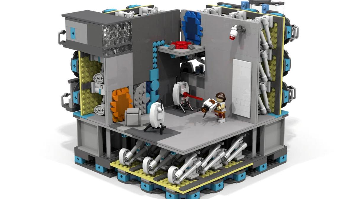 レゴアイデアで『ポータル』が製品化レビュー進出!2021年第1回1万サポート獲得デザイン紹介