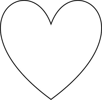 Free Heart Cliparts Black & White