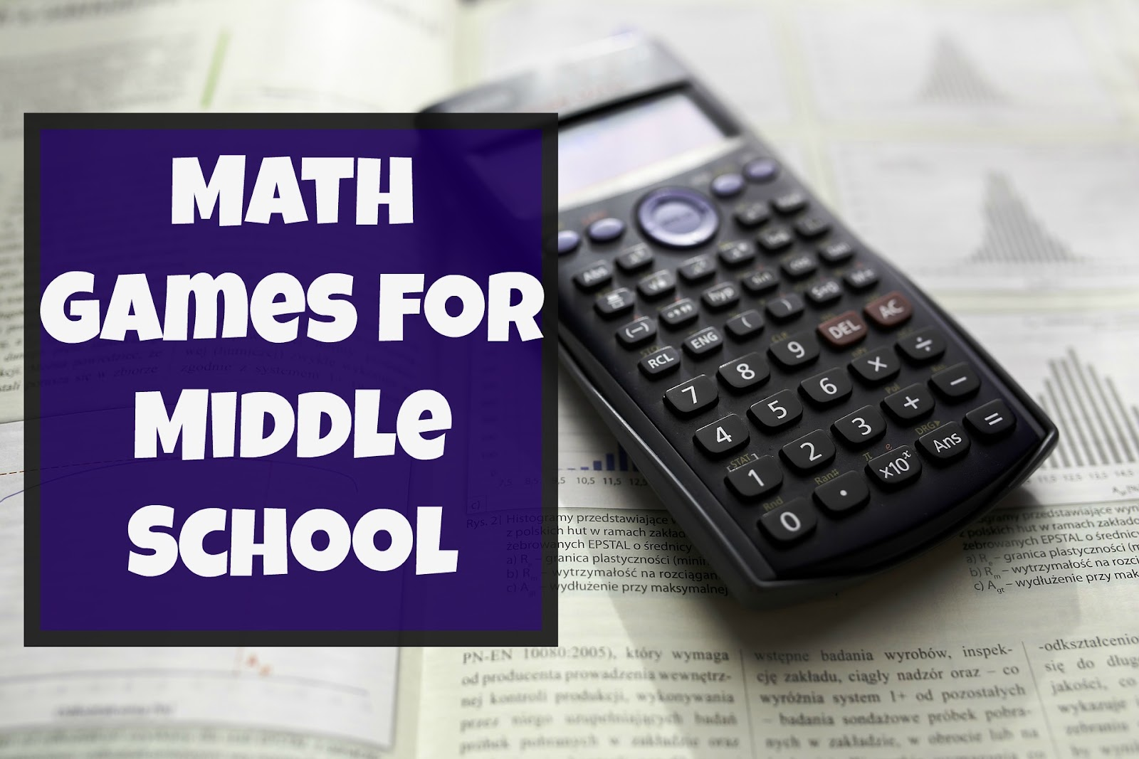 Our Unschooling Journey Through Life: 20 Math Games for Middle School